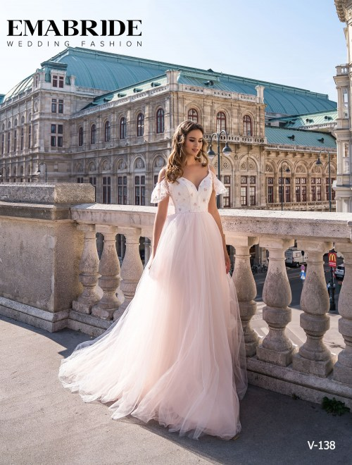 Model V-138 |  Buy evening dresses wholesale by the ukrainian manufacturer Emabride