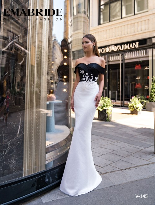 Model V-145 |  Buy evening dresses wholesale by the ukrainian manufacturer Emabride