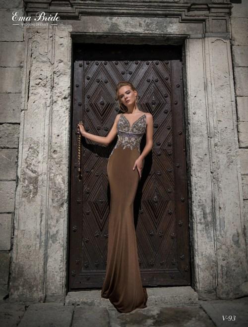 Вечернее платье годе в пол