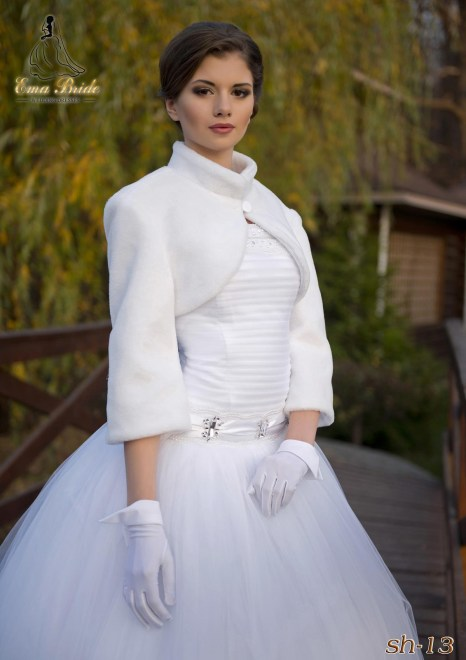 Elegant wedding coat