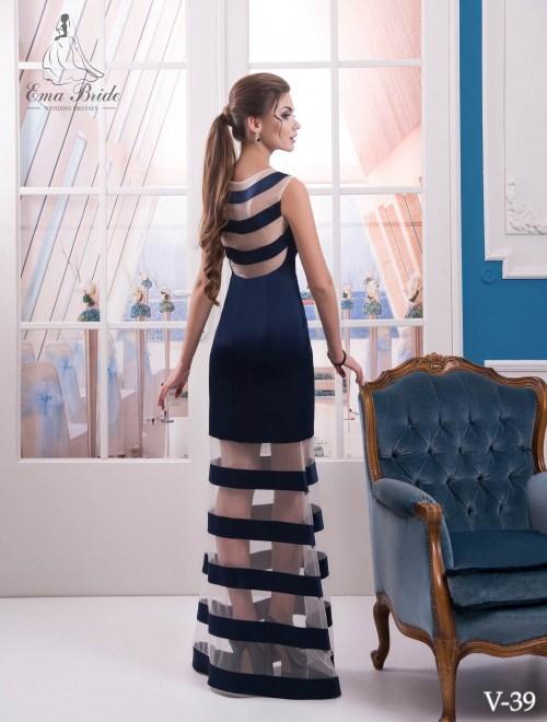 Evening dress v-39 on wholesale