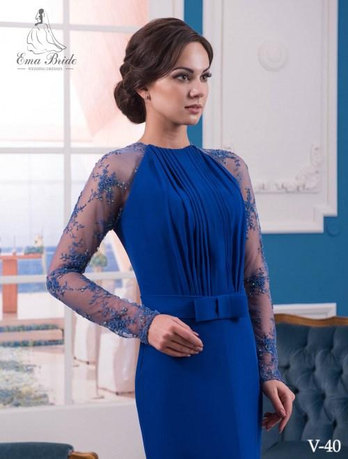 Evening dress v-40 on wholesale
