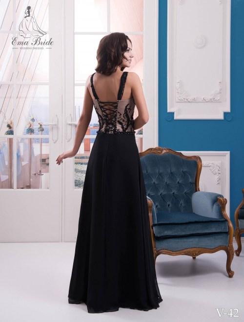 Evening dress v-42 on wholesale