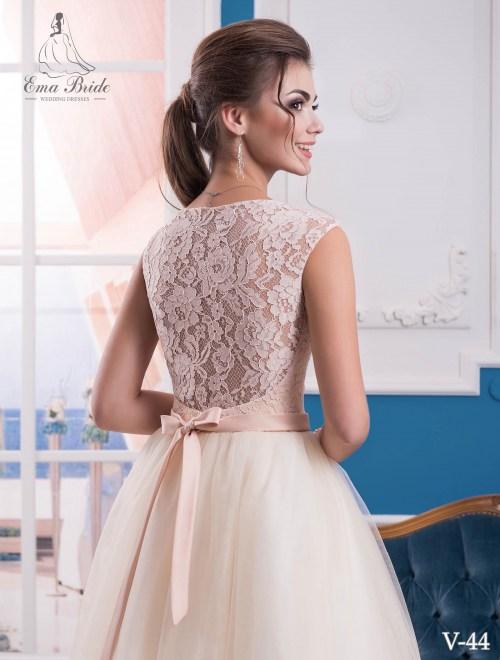 Evening dress v-44 on wholesale