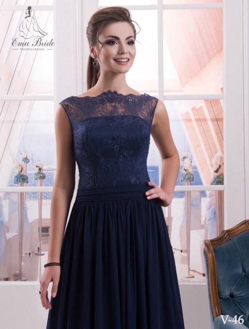 Evening dress v-46 on wholesale