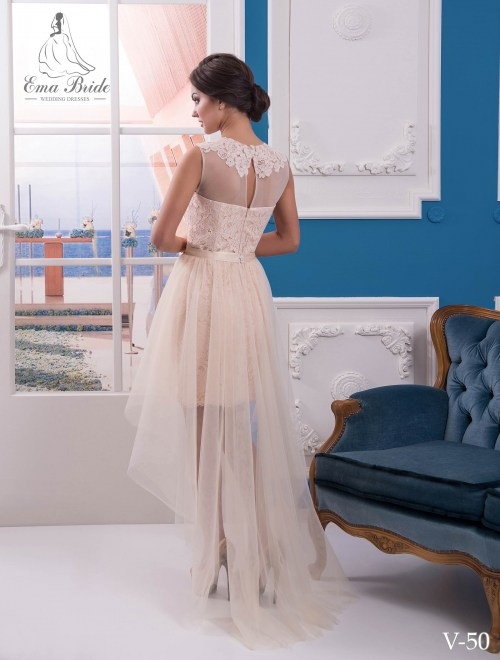 Evening dress v-50 on wholesale
