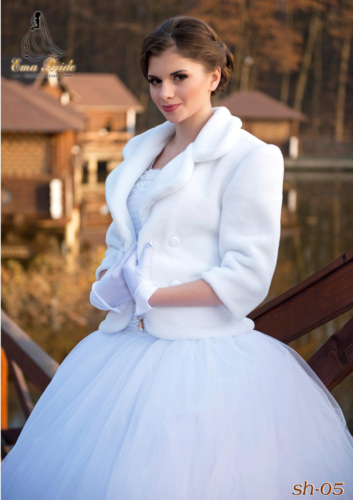 Wedding fur coat SH-05-1