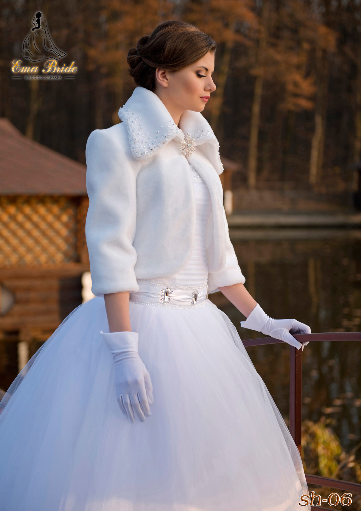 Wedding fur coat SH-06-1