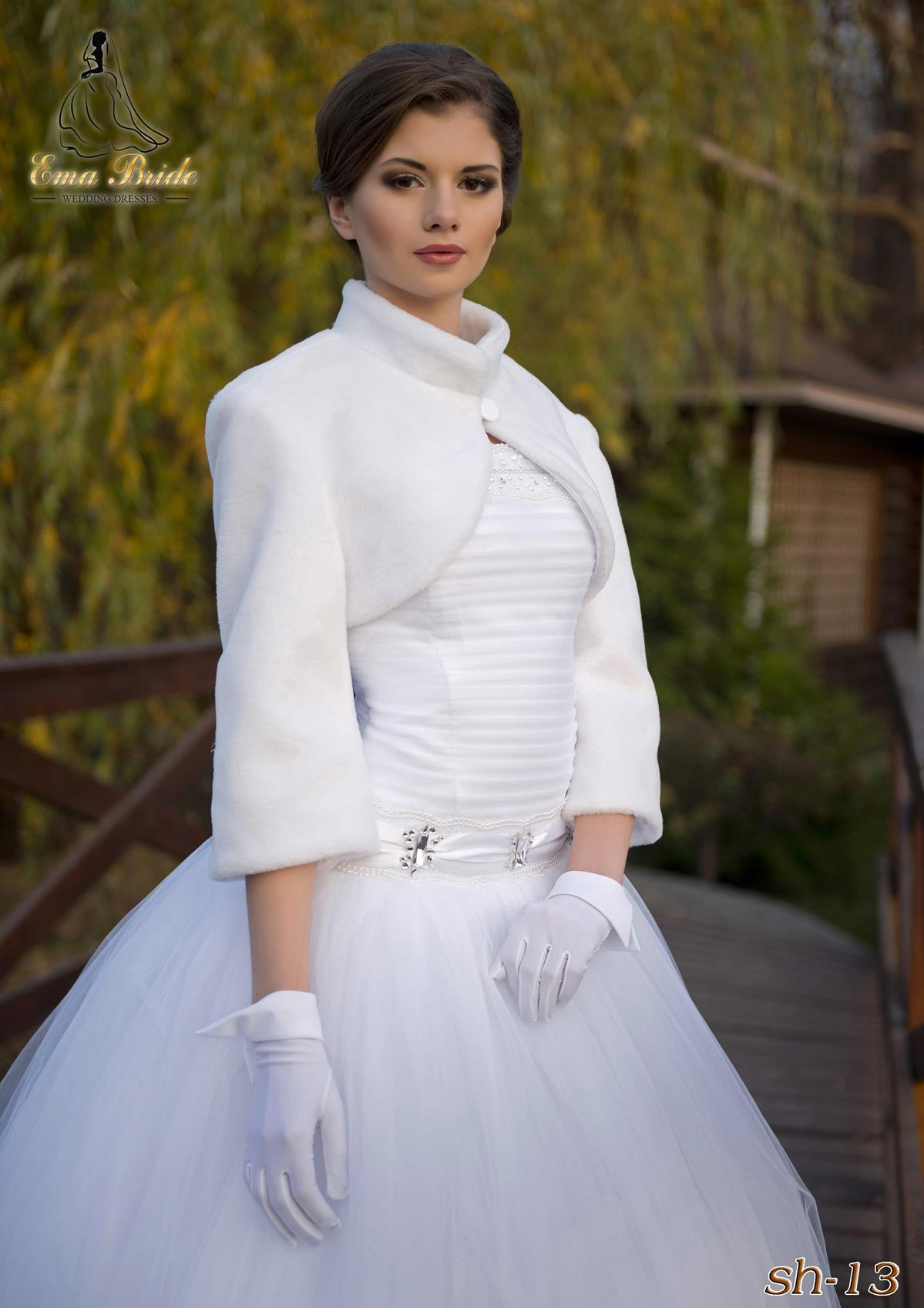 Elegant wedding coat