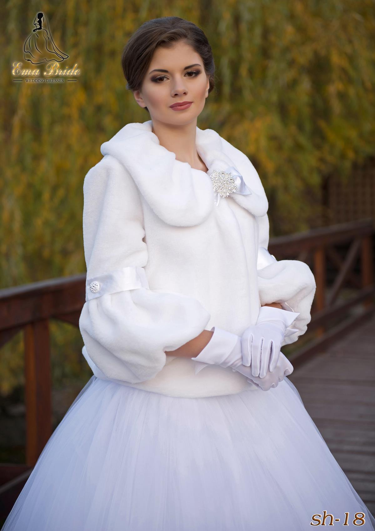 Wedding fur coat SH-18