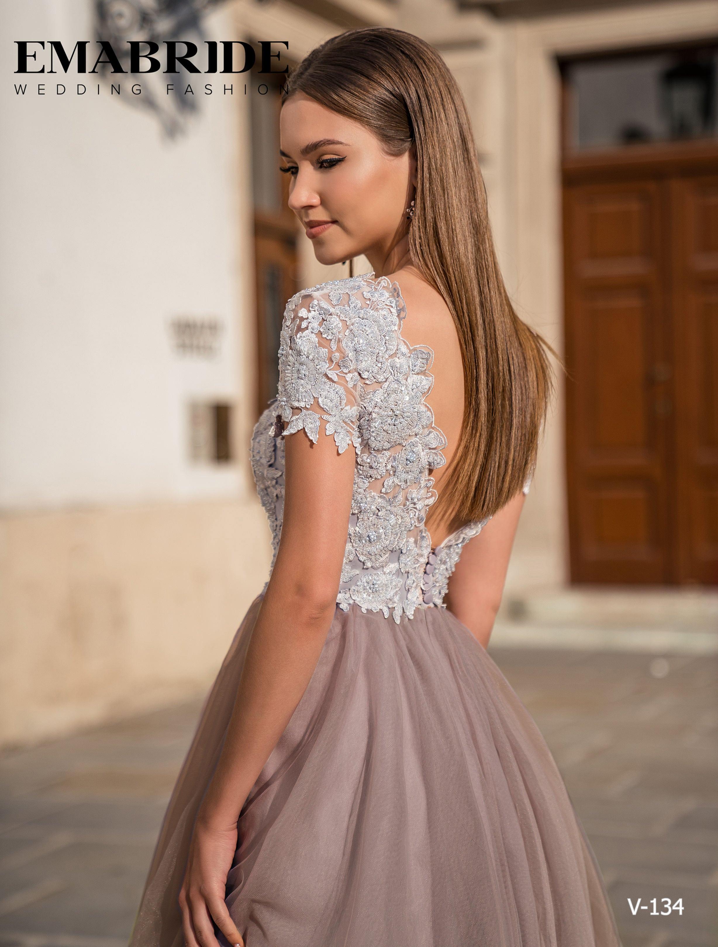 Model V-134 |  Buy evening dresses wholesale by the ukrainian manufacturer Emabride-1