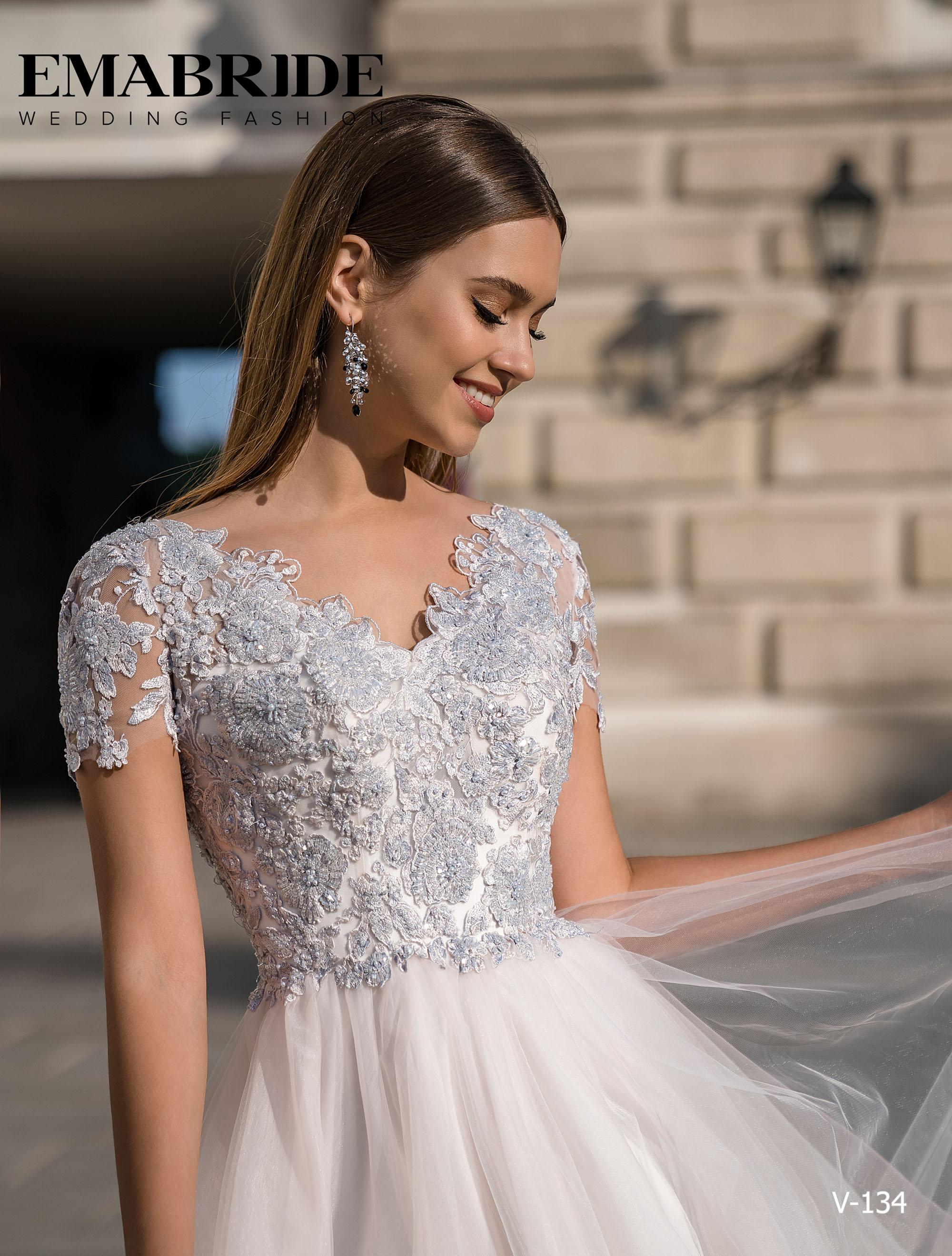 Model V-134 |  Buy evening dresses wholesale by the ukrainian manufacturer Emabride-2
