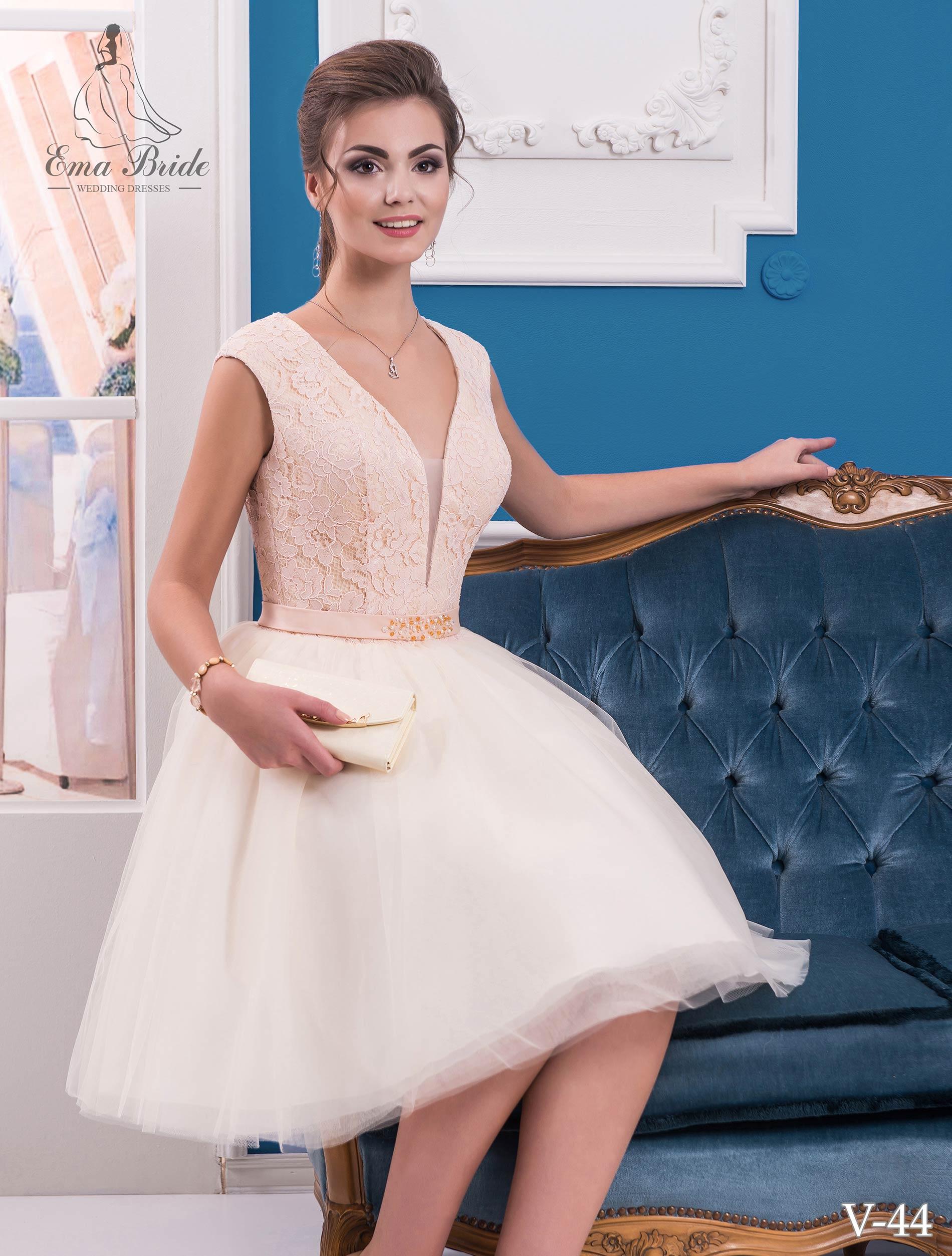 Evening dress v-44 on wholesale-2