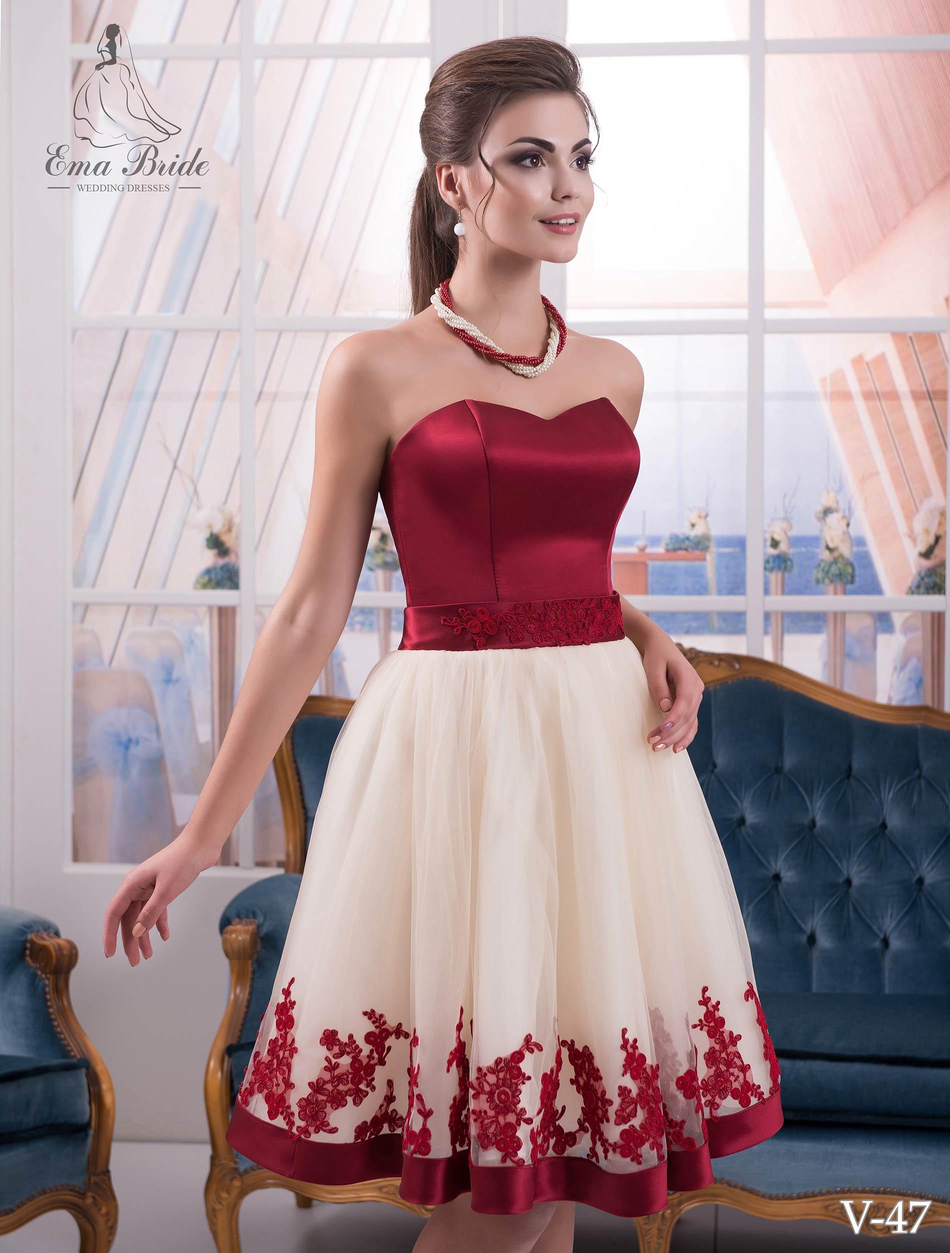 Short evening dress-1