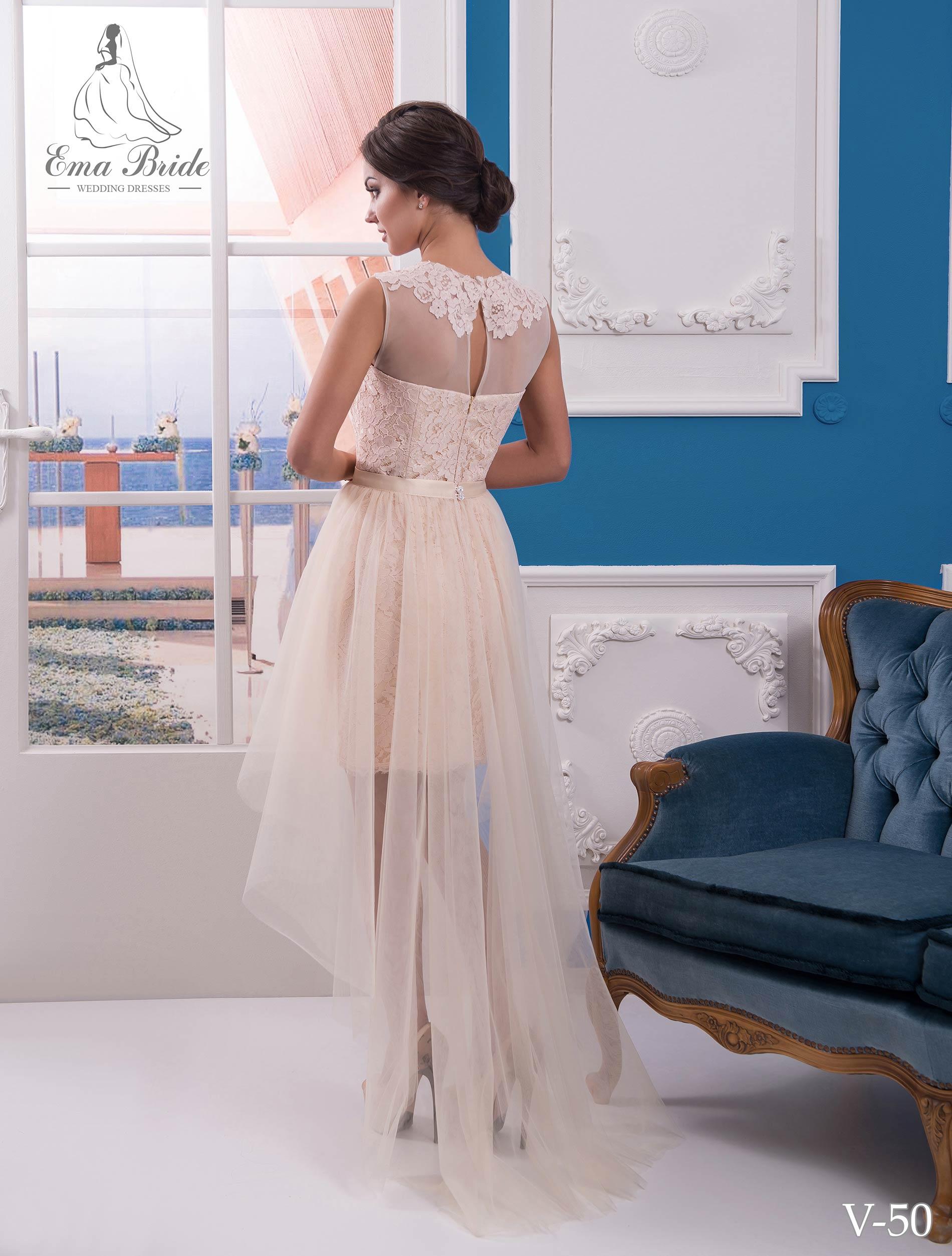 Evening dress v-50 on wholesale-2