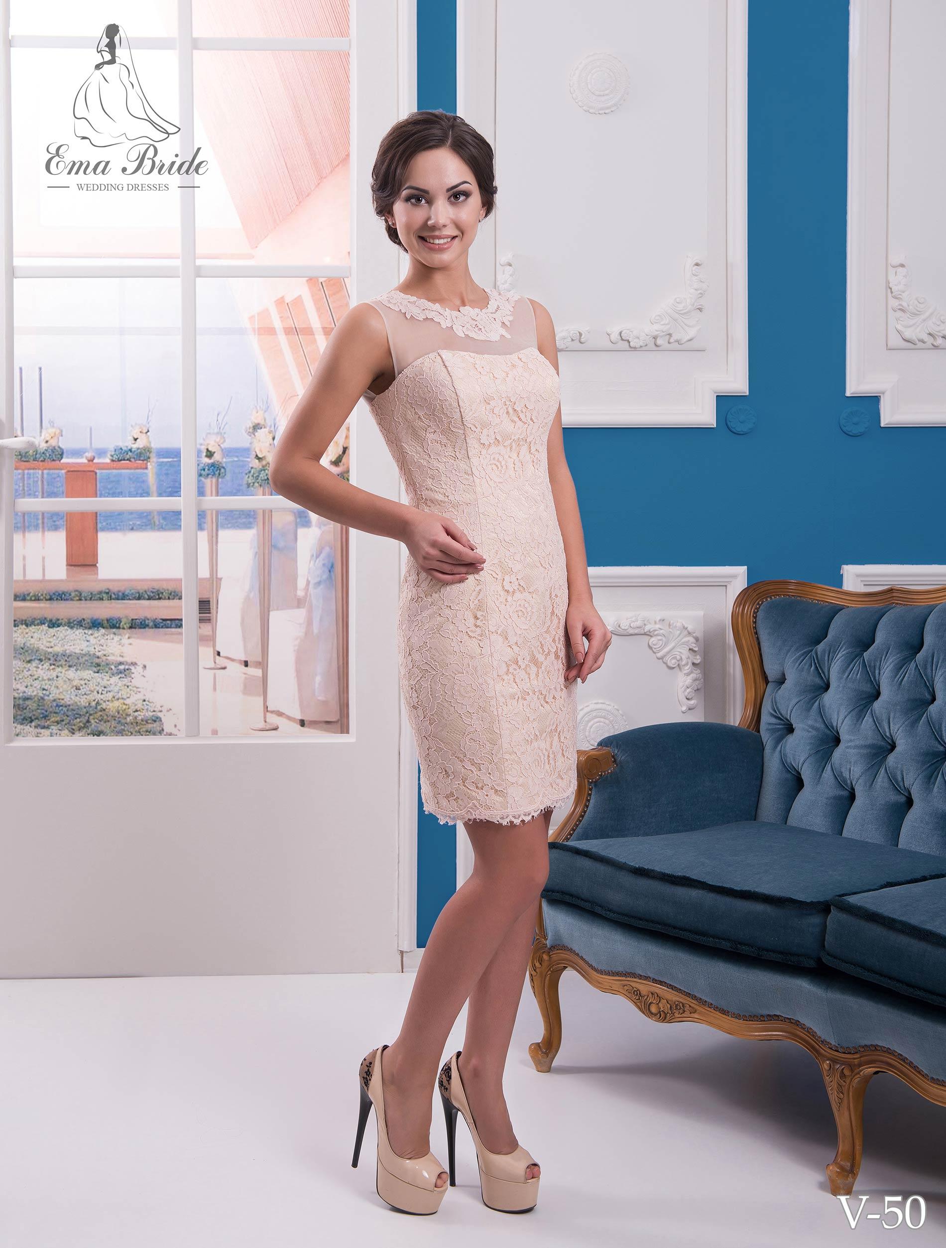 Evening dress v-50 on wholesale-3