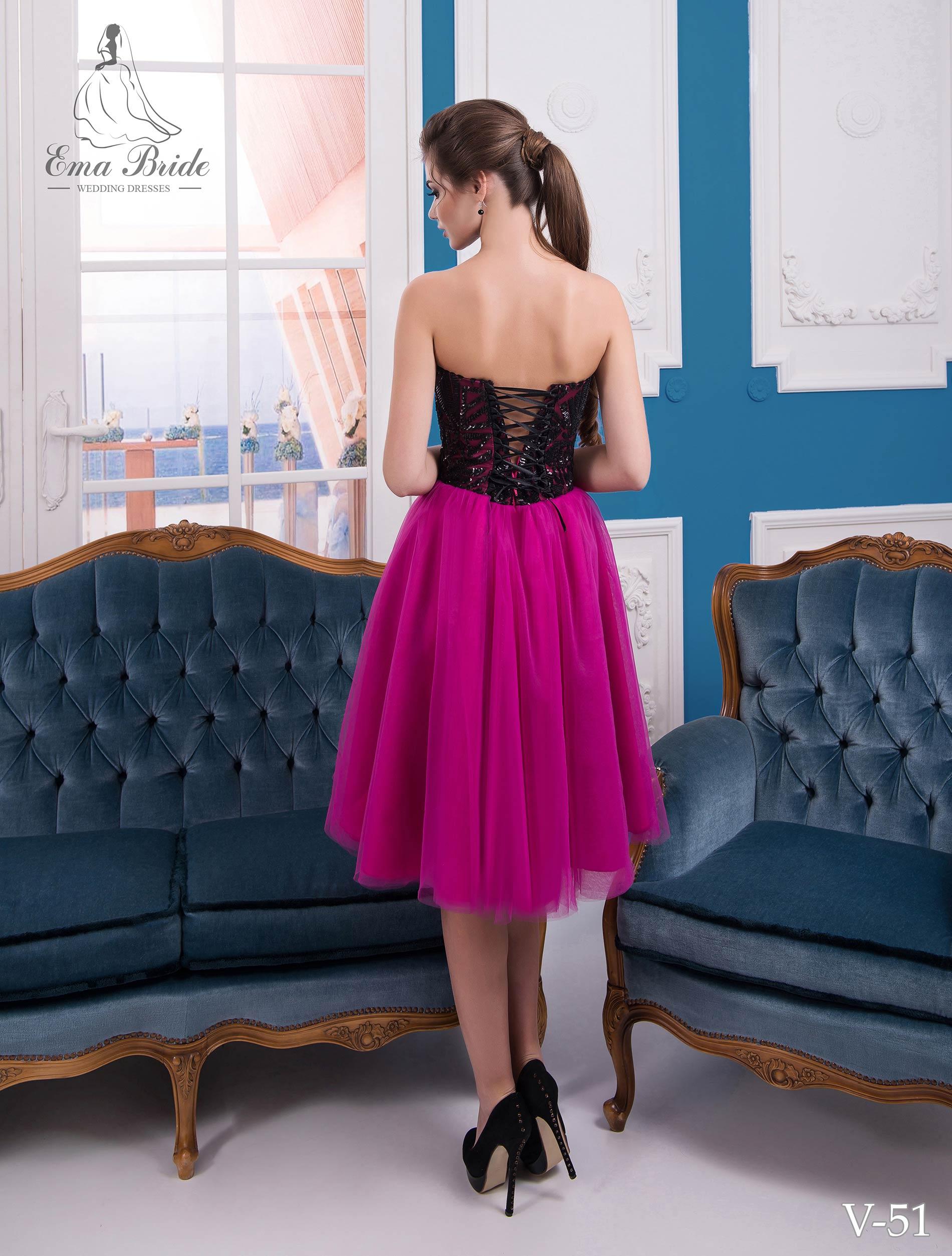 Evening dress v-51 on wholesale-2